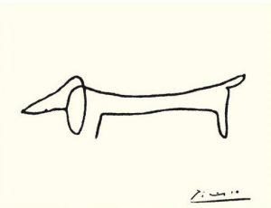 Picasso's Dachsund