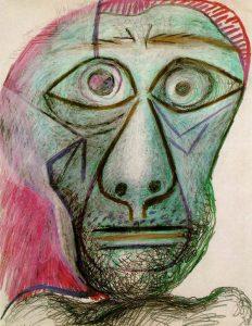 Picasso's 1971 Self-portrait