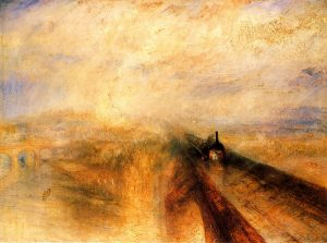 WM Turner's Rain Steam and Speed the Great Western Railway